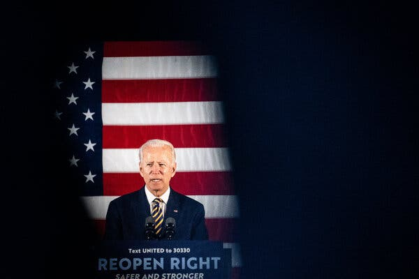Former Vice President Joseph R. Biden Jr. is at odds with powerful elements of his party's liberal base over the role former lobbyists might play in a potential Biden administration.