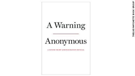 Author of 2018 'Anonymous' op-ed critical of Trump revealed